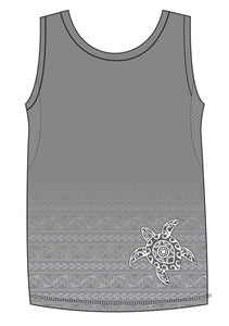 MW Male Tattoo Turtle Run Vest