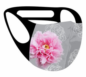 Ultimate Comfort Reusable Face Mask Pink Peony
