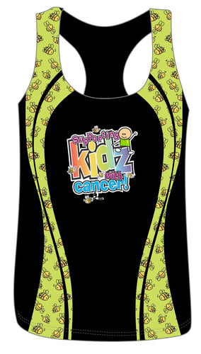 Rainbows & Smiles active female run vest