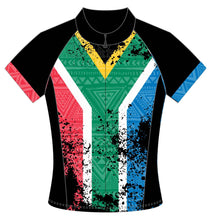 Female South African Flag Pro cycle Jersey