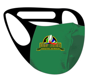 Ultimate Comfort Reusable SA Rugby Legends Face Mask