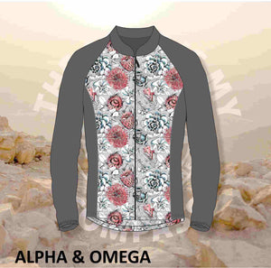 Alpha And Omega Succulent Floral Trail Jacket