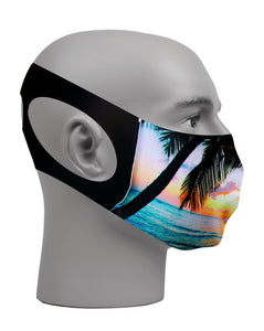 Ultimate Comfort Reusable Face Mask Topical Sunset