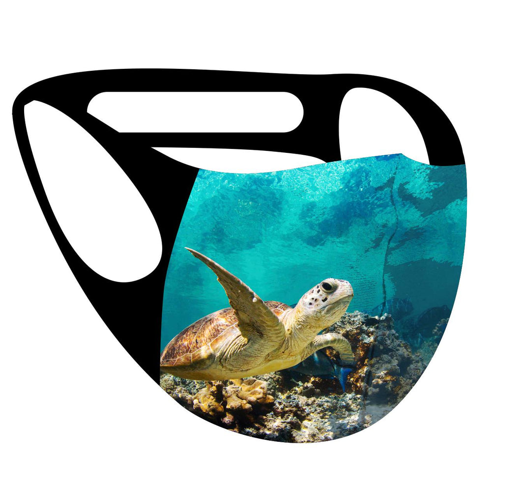Ultimate Comfort Reusable Face Mask Turtle
