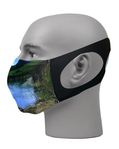 Ultimate Comfort Reusable Face Mask Bass Fishing