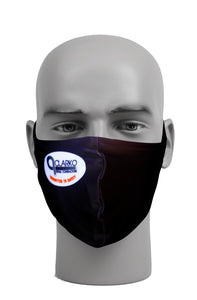 Ultimate Comfort Reusable Clarko Piping Face Mask