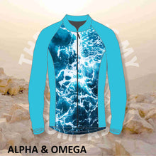 Alpha And Omega Lord Is My Compass Print Trail Jacket