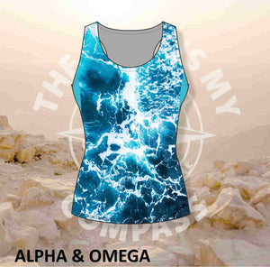 Alpha & Omega The Lord is My Compass Run Vest