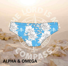 Alpha And Omega GRATEFUL PEONIES Bikini Bottom