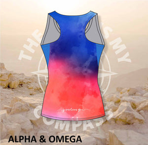 Alpha & Omega Jesus Loves You Run Vest