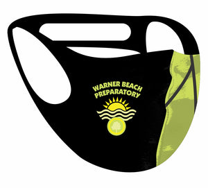 Ultimate comfort reusable face mask Warner Beach Prep Print