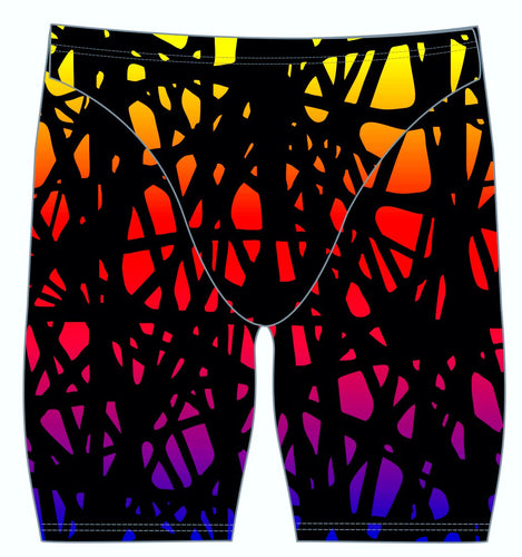 Male jammer swimsuit - Neon web