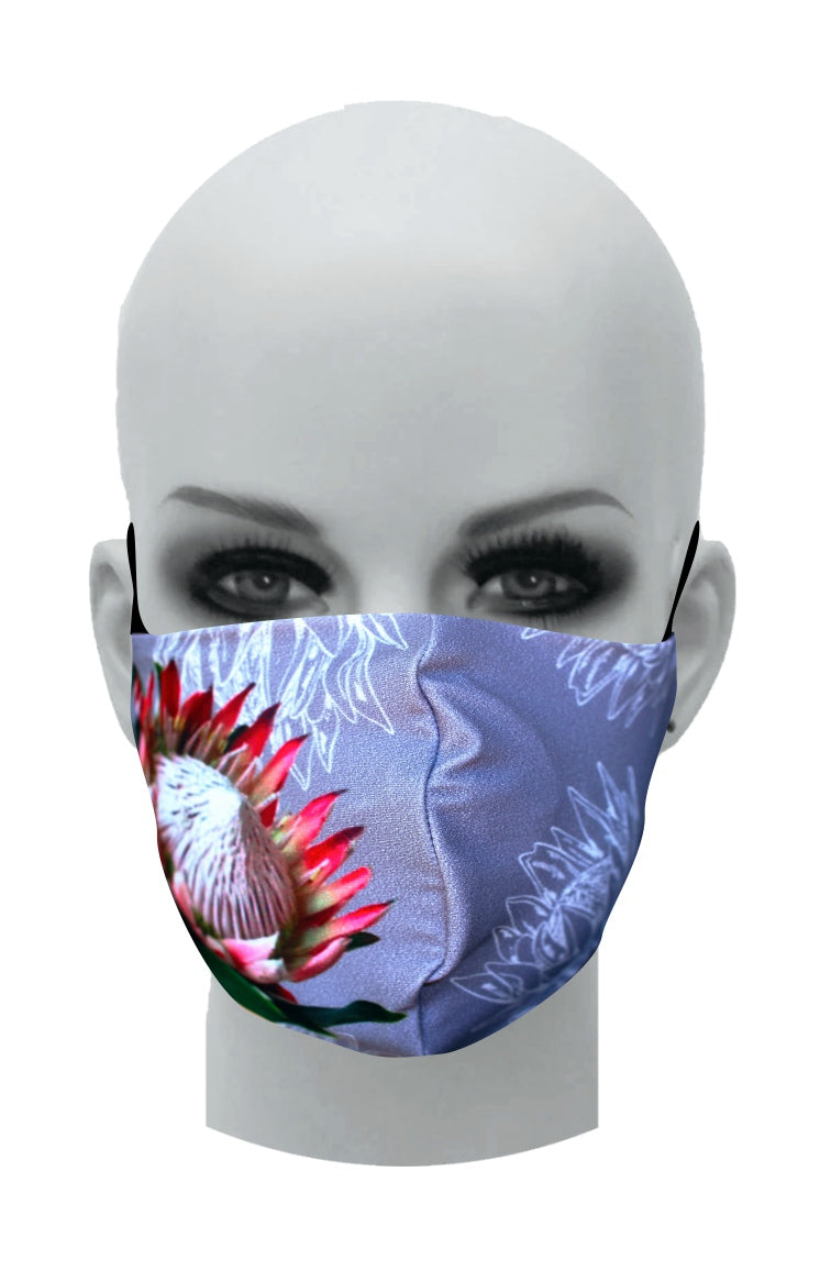 Ultimate Comfort Reusable Face Mask Protea
