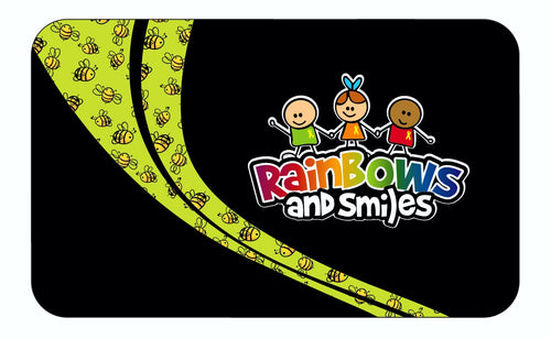 Rainbows & Smiles Microfiber Towel