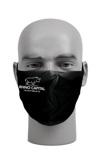 Ultimate Comfort Reusable Rhino Capital Investments Face Mask