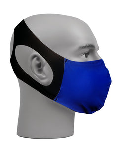 Ultimate Comfort Reusable Face Mask Royal Blue