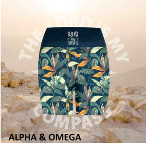 Alpha And Omega Trust his Timing Tropical Athleisure Short Tights
