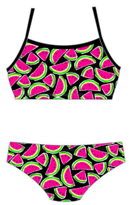 Female 2 Piece Training Bikini - Water Melons