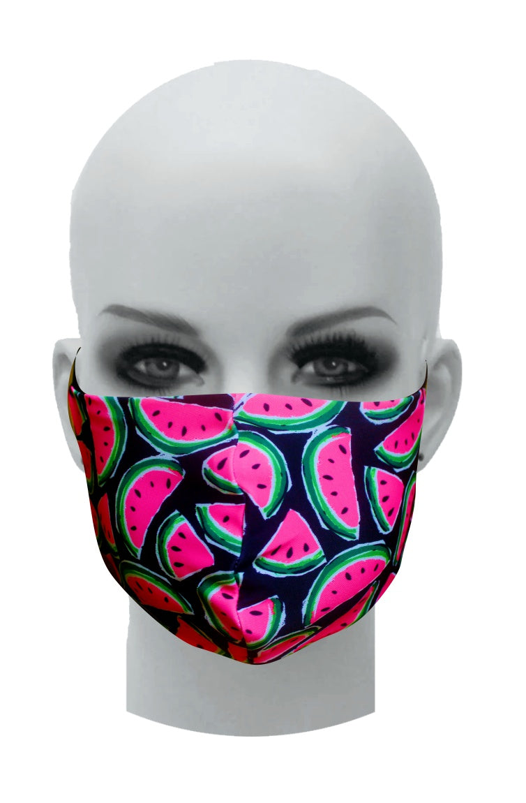Ultimate Comfort Reusable Face Mask Water Melons