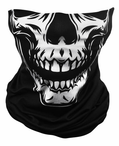 Ultimate Comfort Tubie White Skull