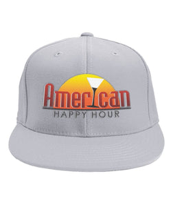American Happy Hour Hat 6-Panel Classic Snapback