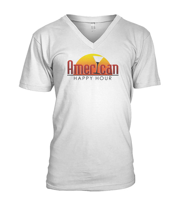 American Happy Hour Mens V-Neck