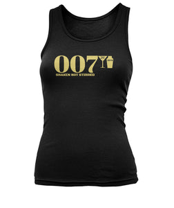007 Shaken Not Stirred 2018 Women's Tank Top