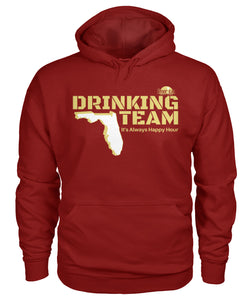 Garnet and Gold Florida Drinking Team Gildan Hoodie