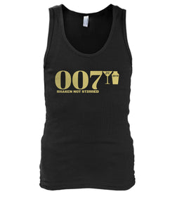 007 Shaken Not Stirred 2018 Men's Tank Top