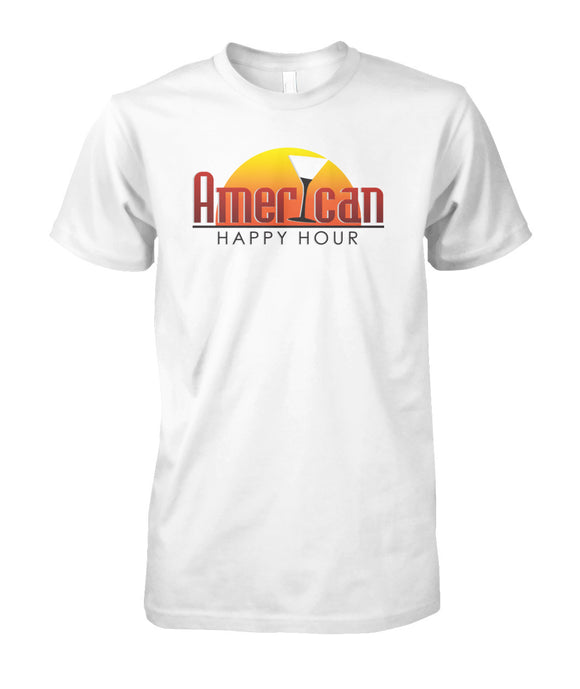 American Happy Hour Unisex Cotton Tee