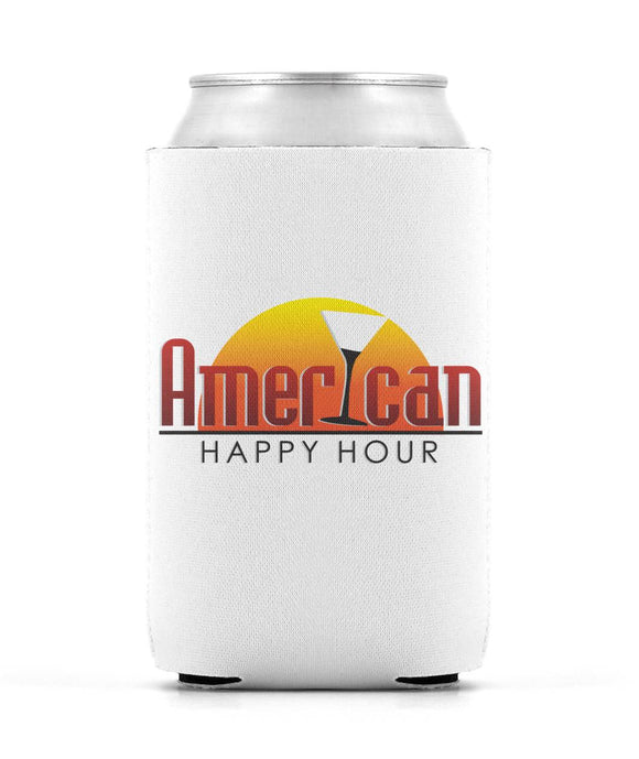 American Happy Hour Coozie Can Sleeve