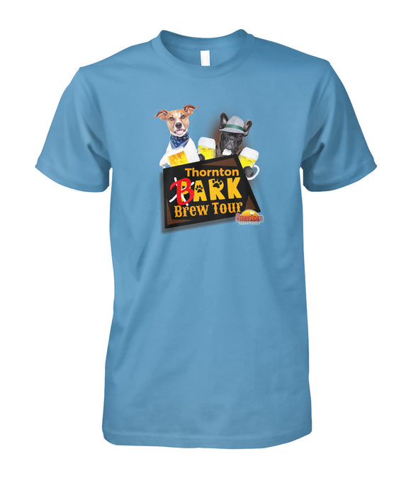 Thornton Bark Brew Tour Unisex Cotton Tee