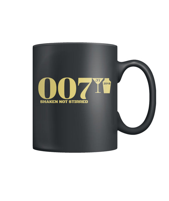 007 Shaken Not Stirred 2018 Color Coffee Mug