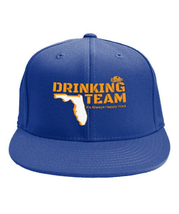 Orange and Blue Florida Drinking Team 6-Panel Classic Snapback