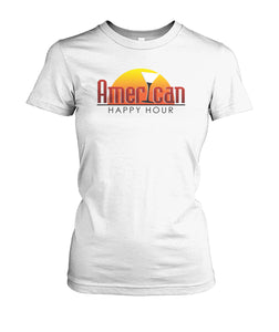 American Happy Hour Women's Crew Tee