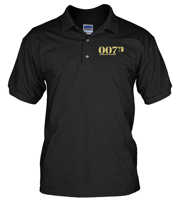 007 Shaken Not Stirred 2018 Men's Polo