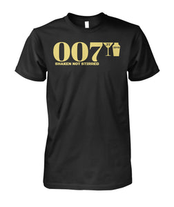 007 Shaken Not Stirred 2018 Unisex Cotton Tee
