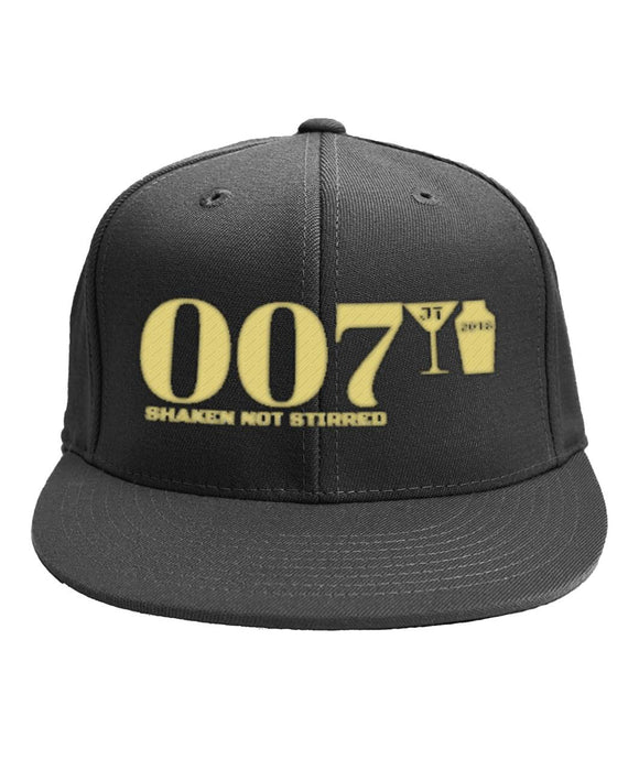 007 Shaken Not Stirred 2018 6-Panel Classic Snapback