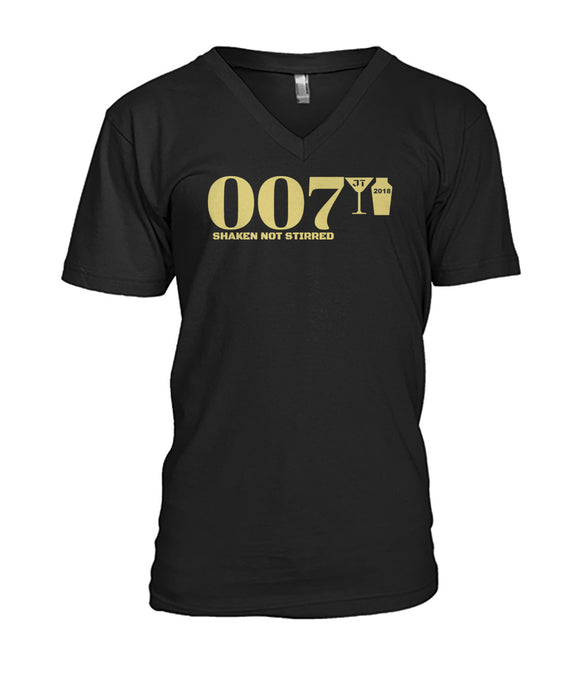 007 Shaken Not Stirred 2018 Mens V-Neck