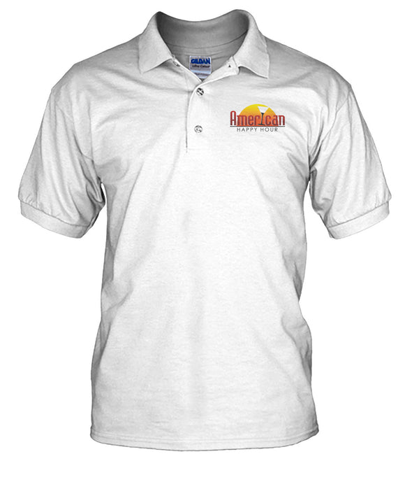 American Happy Hour Men's Polo