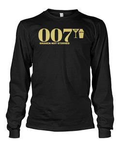 007 Shaken Not Stirred 2018 Unisex Long Sleeve