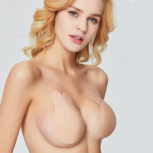 Sweet And Rosy™ Beige / 10 CM Strapless Adhesive Brassy Tape Push Up Bra Pasties