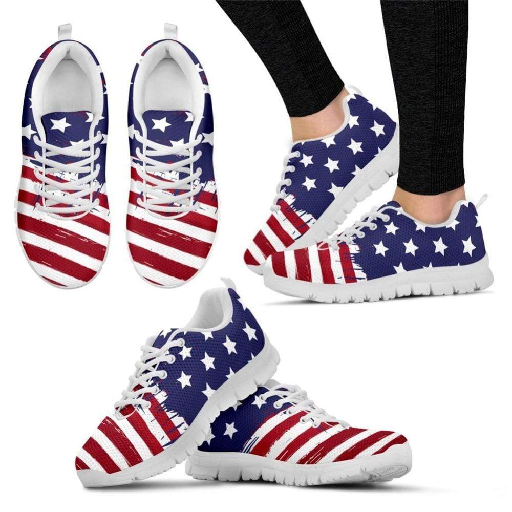 Sweet And Rosy™ Betsy Ross American Flag Sneakers