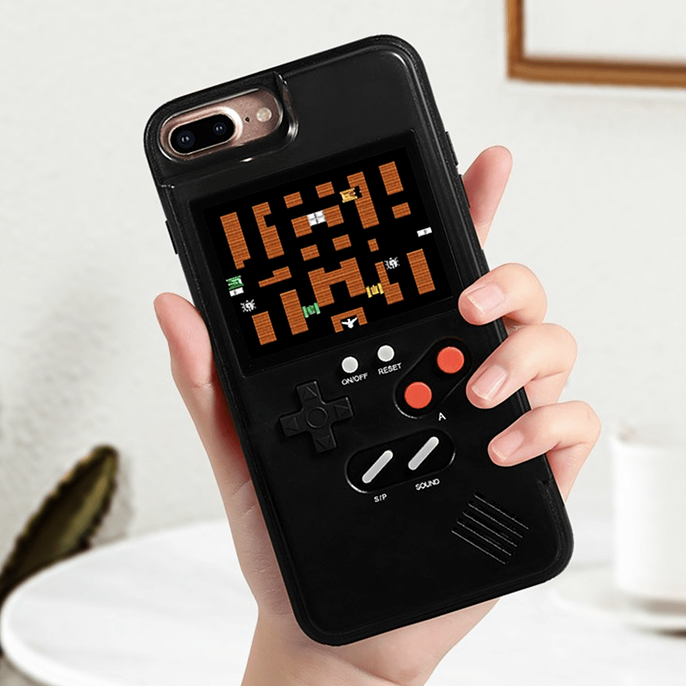 Sweet And Rosy™ Black / iPhone 6/6s plus Gameboy Retro Gaming iPhone Case