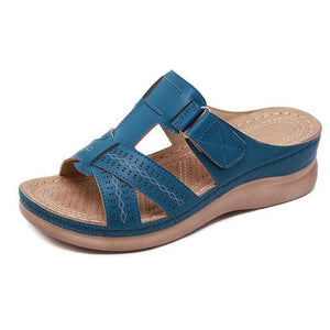 Sweet And Rosy™ Blue / 7 Orthopedic Open Toe Sandals