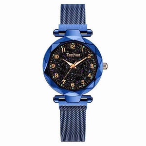 Sweet And Rosy™ Blue Magnetic Starry Sky Watch