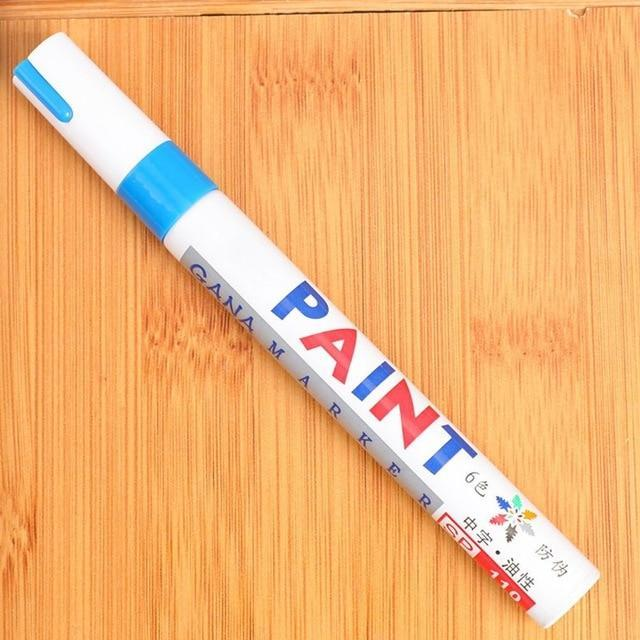 Sweet And Rosy™ Blue Waterproof Non-Fading Tire Paint Pen