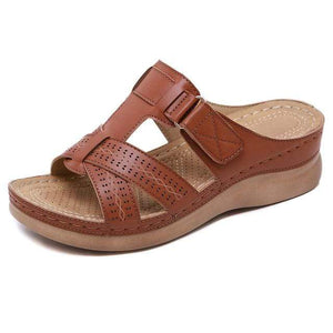 Sweet And Rosy™ Brown / 13 Orthopedic Open Toe Sandals