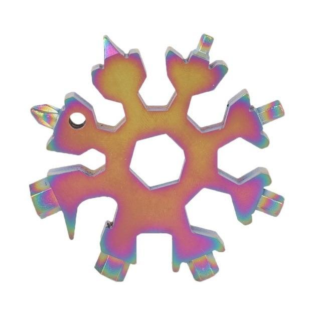Sweet And Rosy™ C / United States Snowflake Multi-Tool