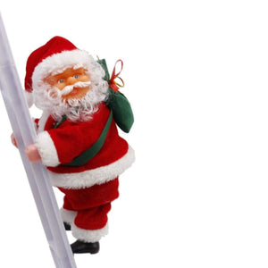 Sweet And Rosy™ Climbing Santa Claus